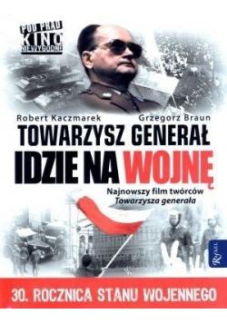 Towarzysz generał idzie na wojnę (książka + DVD)