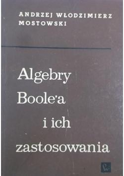 Algebry Boole'a i ich zastosowanie