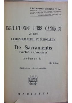 De Sacramentis, Vol. 2,1947