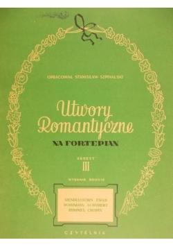 Utwory romantyczne na fortepian, z. III