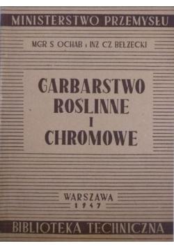 Garbarstwo roślinne i chromowe, 1947 r.