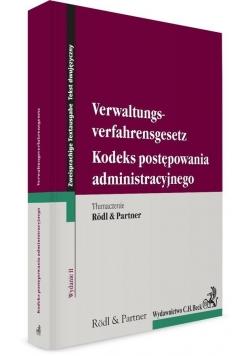 Kodeks postępowania administracyjnego. Verwaltungs