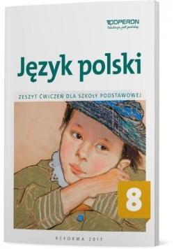 Język polski SP 8 Zeszyt ćwiczeń OPERON