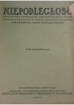 Niepodległość , 1930r.  Tom II zeszyt 2