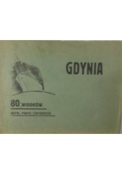 80 widoków  Gdyni, portu i wybrzeża 1934 r.