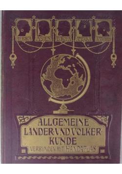 Allgemeine Länder- und Völkerkunde