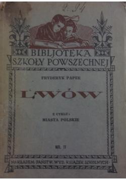 Lwów, 1933 r