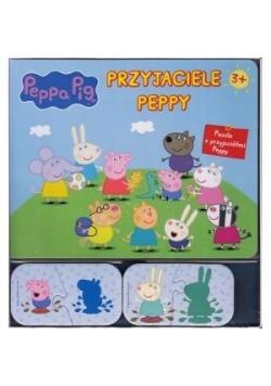 Świnka Peppa. Przyjaciele Peppy + puzzle