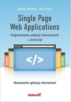Single Page Web Applications. Programowanie ...