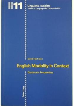 English Modality in Context