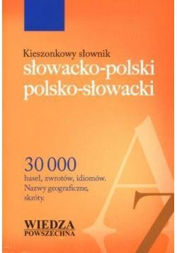 Kieszonkowy słownik słowacko-polski, pol-słowacki