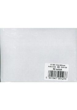 Koperty białe C6 SK B/O BM (50szt)