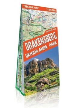 Trekking map Góry Smocze Ukhahlamba Park 1:100 000