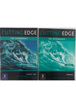 Cutting Edge. Pre-intermediate. Workbook and Students book