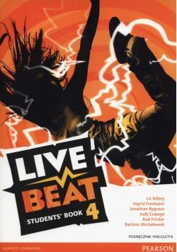 Live Beat 4 Podręcznik wieloletni + CD