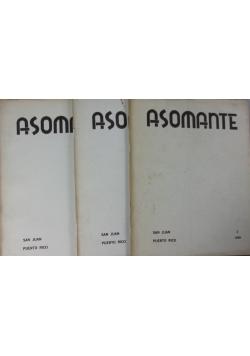 Asomante, cz. 1, 3, 4