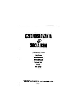 Czechoslovakia i socialism