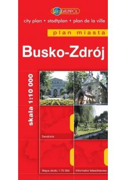 Plan Miasta- Busko-Zdrój  -BR- Daunpol