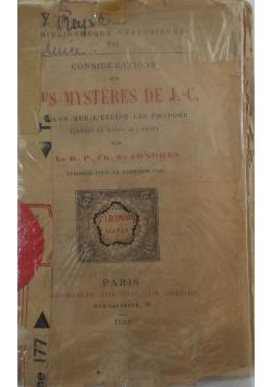 Es Mysteres De J. - C. , 1882 r.