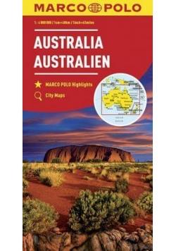 Mapy kontynentalne Australia 1:4 mil. MARCO POLO