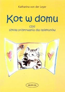 Kot w domu. Szkoła przetrwania dla opiekunów