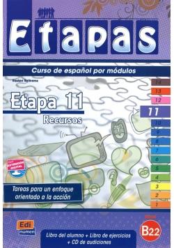 Etapas 11 Podręcznik + ćwiczenia + CD