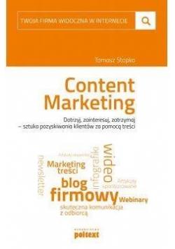 Twoja firma widoczna w internecie Content Marketin