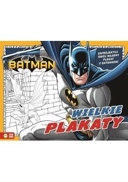 Batman Wielkie plakaty + zawieszki na drzwi Kolorowanka, Nowa