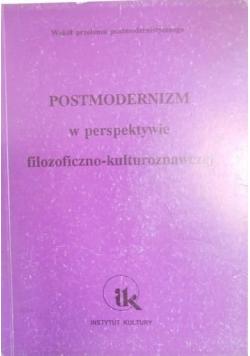 Postmodernizm w perspektywie filozoficzno-kulturoznawczej