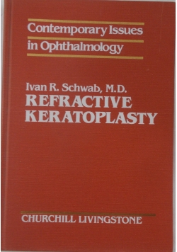 Refractive Keratoplasty
