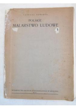 Polskie malarstwo ludowe, 1937 r.