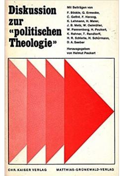 Diskusion zur politischen theologie