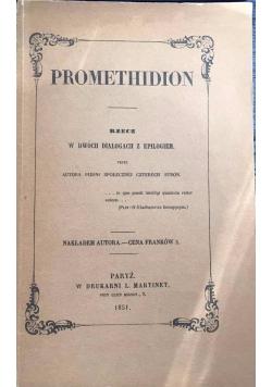 Promethidion, rzecz w dwóch dialogach z epilogiem, reprint z 1851 r.