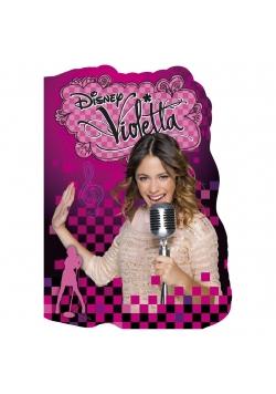 Notes kształtowy A6 Violetta (15szt) DERFORM