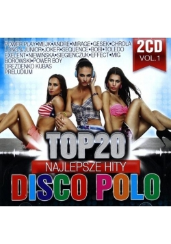 Top 20. Najlepsze Hity Disco Polo vol. 1 (2CD)