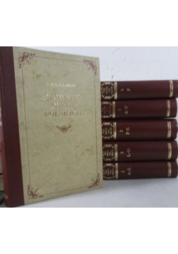 Słownik gwar Polskich Tom I-VI, reprinty