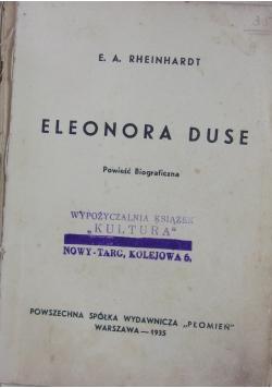 Eleonora Duse -Powieść Biograficzna,1935r
