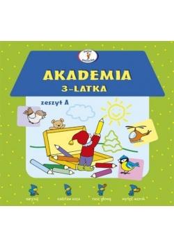 Akademia 3-latka. Zeszyt A