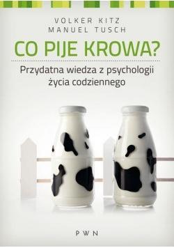 Co pije krowa?