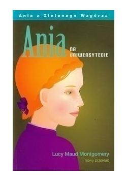 Ania z na uniwersytecie