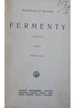 Fermenty tom II, 1928 r.