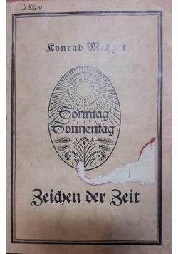 Zeichen der Zeit, 1927 r.
