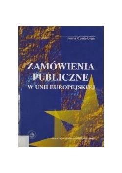 Zamówienie publiczne w Unii Europejskiej