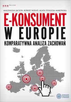 E-konsument w Europie - komparatywna analiza zach.