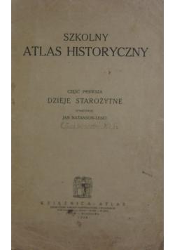 Szkolny atlas historyczny,1926r