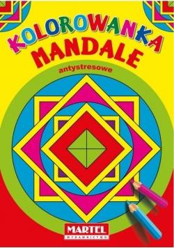 Kolorowanka Mandale Antystresowe. Kwadraty