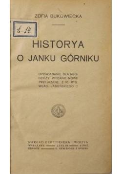 Historia o Janku Górniku, 1925 r.