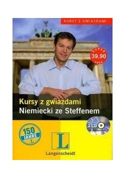 Kursy z gwiazdami - niemiecki ze Steffenem + 2 PŁYTY CD