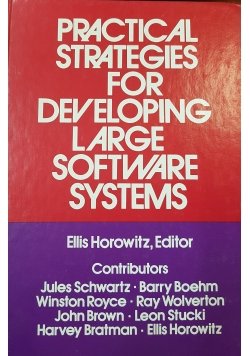 Practical strategies for developing large software systems