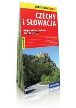 Premium!map Czechy i Słowacja 1:600 000 mapa